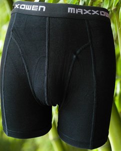 Bamboe heren boxershort Zwart