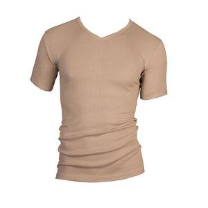 Heren T-shirt met V-hals M3000 Huid