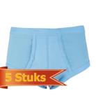 Heren slips met voorsluiting M3000 Bleu (5-pack)