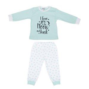 Baby pyjama Love You Mint