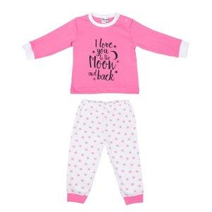 Baby pyjama Love You Roze