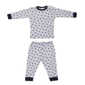 Baby pyjama Stripe/Star Marine
