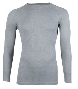 Thermo unisex shirt met lange mouwen Grijs