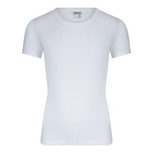 Jongens T-shirt met ronde hals M3000 Wit